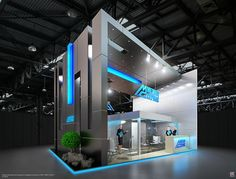 notice the angle arch angles on the back wall 9 on Behance Exhibition Stall, Exhibition Booth Design, Exhibit Design, Exhibition Ideas, Web Banner Design, Beautiful Architecture, Architecture Design, Exibition Design, Trade Show Design