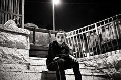 Detainee 2: O.T., 10 years old (Photo: Samar Hazboun)