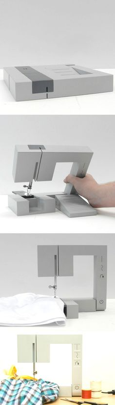 Square and portable sewing machine - and 9 more super cool sewing inventions!