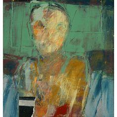 Henry Jackson, mixed media on panel 19 x 20 Painting Collage, Figure Painting, Painting & Drawing, Paintings, Abstract Portrait, Portrait Art, Abstract Art, Portraits, Henry Jackson