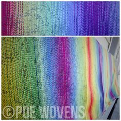 "Poe Wovens ""Isa53"", featuring a textured graduation stripe in the weft of ®Repreve with a mercerized cotton warp."
