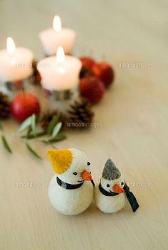 雪だるま人形[11014004746]| 写真素材・ストックフォト・イラスト素材|アマナイメージズ