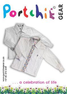 Boys #longsleeveshirt by #portchiegear - www.portchiegear.co.za