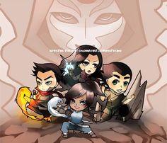 The Legend of Korra: The team