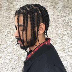 """Gefällt 151 Mal, 1 Kommentare - BRAID STYLIST in WPG (@braid_slayy) auf Instagram: """"clean cut braids - - - #braids #boybraids #asap #asaprockybraids #hairstyles #menhairstyles…"""""""