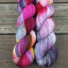 Perfectly Wreckless - Yummy 2-Ply - Babette   Miss Babs Hand-Dyed Yarns & Fibers, Inc.