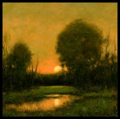 Tonalist Landscapes | every effort is made to portray colors accurately please be aware that ...