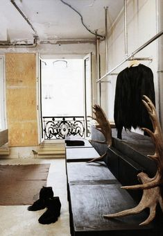rick owens's paris home