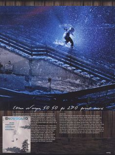 Snowboard - Spanish Magazine - Ethan Morgan - Snowboard Team - March12