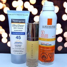 Best sunscreen for oily skin, best sunscreen for dark skin