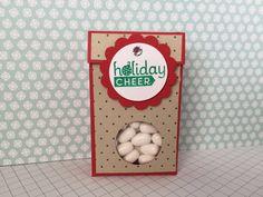 Holiday Tic Tac Treat Box Tutorial