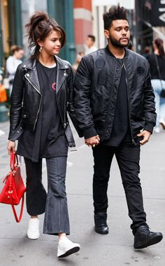September 2: Selena and The Weeknd leaving Lure Fishbar in New York, NY [HQs]