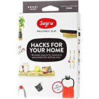 Create fun home projects that enhance your décor with the Hacks For Your Home Mouldable Glue Kit from Sugru. The glue kit contains amazing hacks and ideas that will inspire you to improve and personalize your cherished possessions. Home Hacks, Diy Hacks, Cleaning Hacks, Sugru Glue, Sugru Mouldable Glue, Thing 1, Organizing Your Home, Duct Tape, Starter Kit