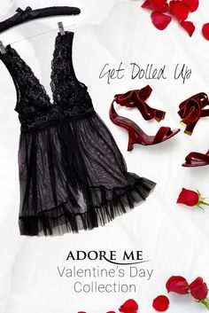Get dolled up in this babydoll from Adore Me Lingerie ♥ http://my.adore.me/x/isOkkm