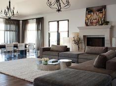 Los Gatos Residence - contemporary - family room - san francisco - Lizette Marie Interior Design