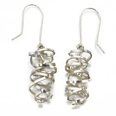 Laurita Earrings Silver, 43€, now featured on Fab.