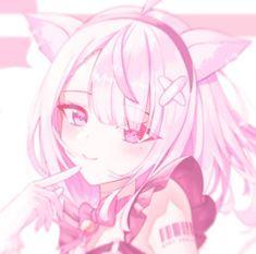 Anime Girl Pink, Anime Art Girl, Kawaii Art, Anime Kawaii, Pink Aesthetic, Aesthetic Anime, Hd Cute Wallpapers, Lolis Neko, Animated Icons