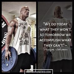 Motivational picture quote by Dwayne Johnson The Rock