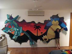 Pokemon Mural