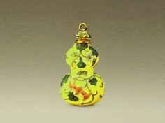 Enamel Snuff Bottles of Yongzheng period (1723-1735) - China culture
