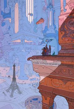 The Art Of Animation, Moebius