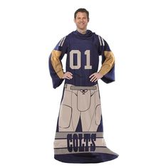 Indianapolis Colts Unisex Adult Comfy Throw
