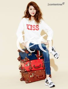 SNSD Soo Young - Ceci Magazine February Issue '15
