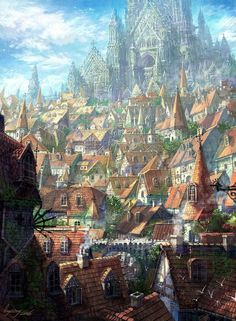 Home Discover A fantasy cityscape by Xiang Ling Fantasy City Fantasy Castle Fantasy Places Medieval Fantasy Fantasy World Fantasy Village High Fantasy Fantasy Concept Art Fantasy Artwork Fantasy City, Fantasy Castle, Fantasy Places, Medieval Fantasy, Fantasy World, Fantasy Village, High Fantasy, Anime Fantasy, Fantasy Concept Art