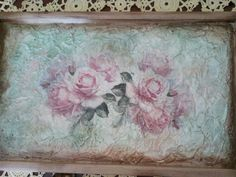 Serving Trays, Decoupage, Painting, Art, Painting Art, Paintings, Kunst, Paint, Draw