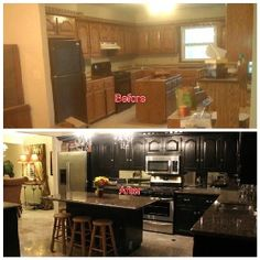 Before and after   Home Remodeling