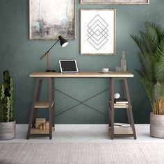 Soho Range Odell Home Office Desks Home Office Storage, Home Office Space, Home Office Desks, Home Office Furniture, Office Decor, Office Ideas, Home Office Paint Ideas, Rustic Office, Office Inspo