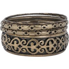 Filigree Stars Bangle Set