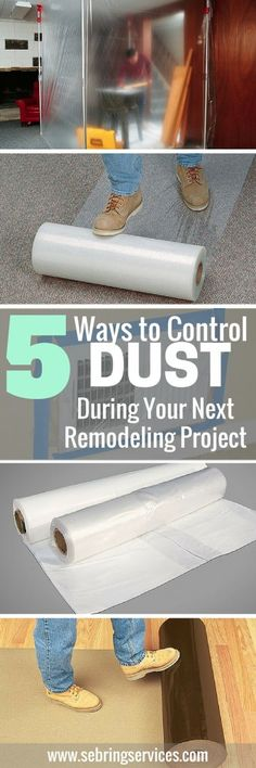 How to Control Dust During Remodeling