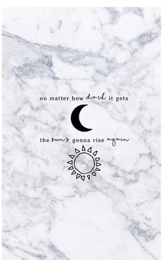 NO MATTER HOW DARK IT GETS MARBLE - MEREDITH GREY - GREY'S ANATOMY