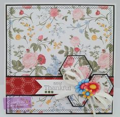 6 x 6 square top fold card made using Crafters Inspiration Issue 10. Designed by Ann-Marie Sinfield #crafterscompanion