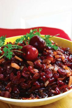 Over the years, cranberry sauces, specifically chutney, have become a staple of holiday fare. Try this Cranberry Chutney recipe this year, and you won't be sorry you did.