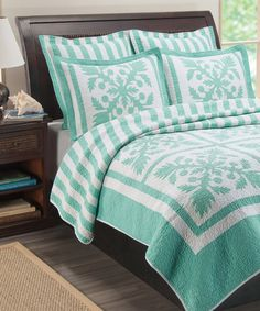 Look at this Island Breeze Quilt Set on #zulily today!