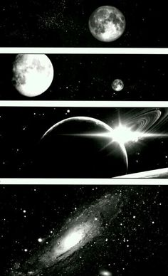 Beautiful stars and planets
