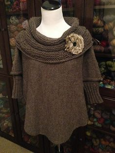 Ravelry: Project Gallery for Weekend Swoncho pattern by Kathleen England and Barbara Condon, beautiful!
