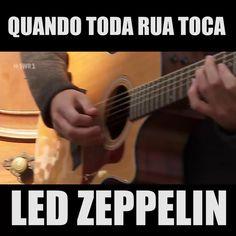 Quando toda rua toca Led Zeppelin:videos de musicas bandas de rock metal cover engraçados tiktok youtube cute fofos para status Guitar Tips, Guitar Songs, Cool Music Videos, Good Music, Led Zeppelin Videos, Rock Videos, Rock Posters, Janis Joplin, Band Photos