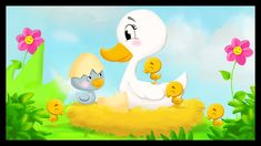 Histoire pour enfants : Le vilain petit canard French Class, French Lessons, Reading Stories, Stories For Kids, Simple Cartoon, Cartoon Kids, Drama Education, Decoupage, Reading Club