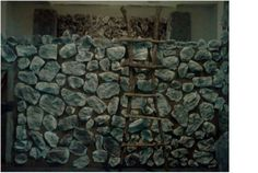 Crumpled Paper Rock Wall #Kingdom #Rock #VBS