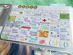 Project Life April 1-6 2014 by two-forty-six, via Flickr