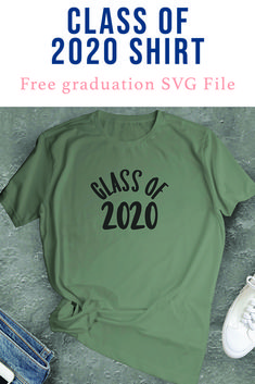Celebrate the Class of 2020 like they deserve to be celebrated with this SVG file from Everyday Party Magazine #ClassOf2020 #Seniors #Graduation