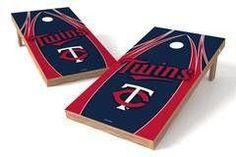 Minnesota Twins Single Cornhole Board - The Edge
