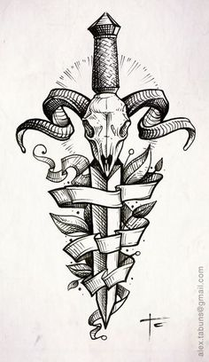 tattoo -                                                      don't want to have a deer on my body, but i like the combination of sketchy lines and clean geometry.