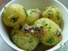 Молодой картофель в ароматном соусе ингредиенты