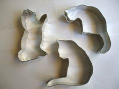 Kitty Cat set of 3 cookie cutters