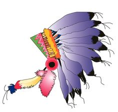 Indian headdress (color)