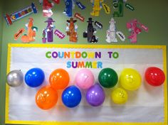 Count Down to Summer!-bulletin board